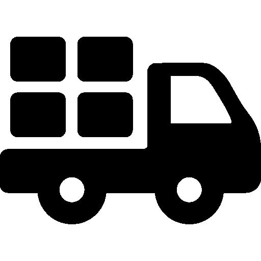 Truck  free icon