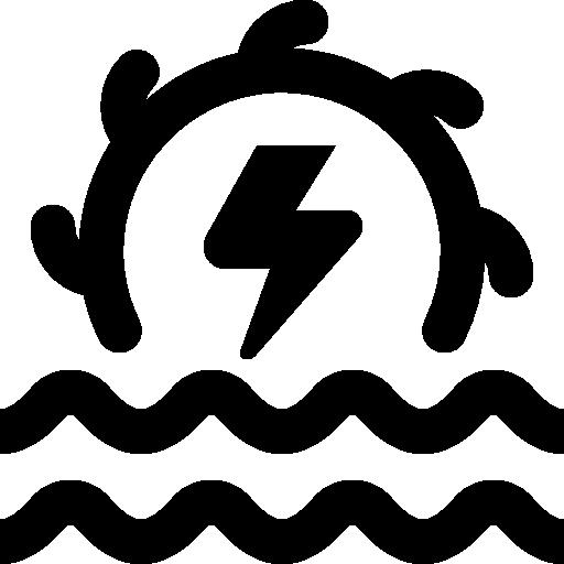 Hydro power  free icon