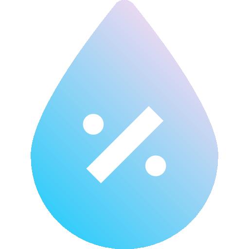 umidade  grátis ícone