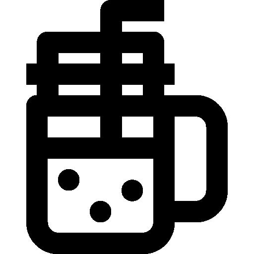 tarro de albañil  icono gratis