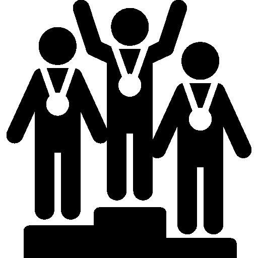 Winners  free icon