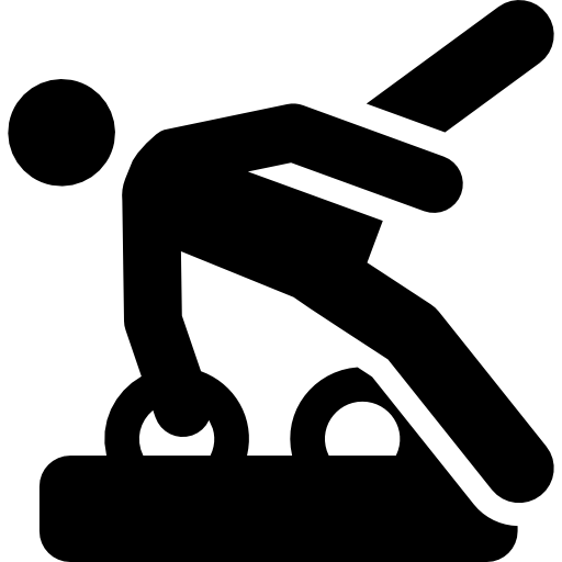 Gymnast  free icon