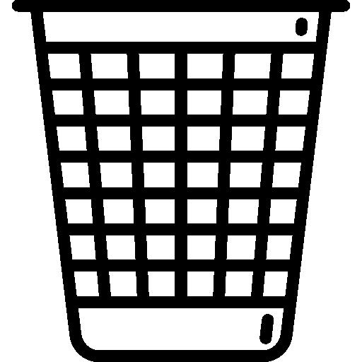 lixeira  grátis ícone