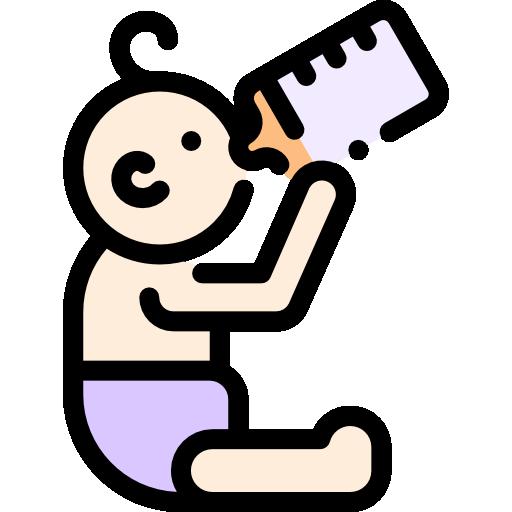 아기 마시는 병  무료 아이콘