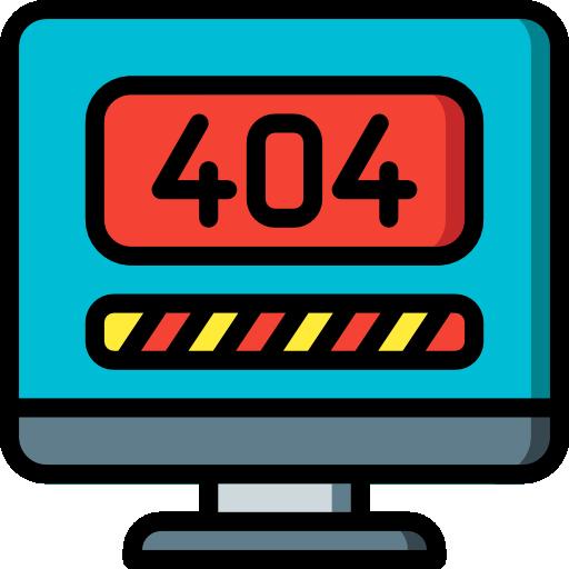 404 fehler  kostenlos Icon