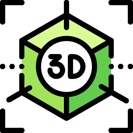 3d  бесплатно иконка