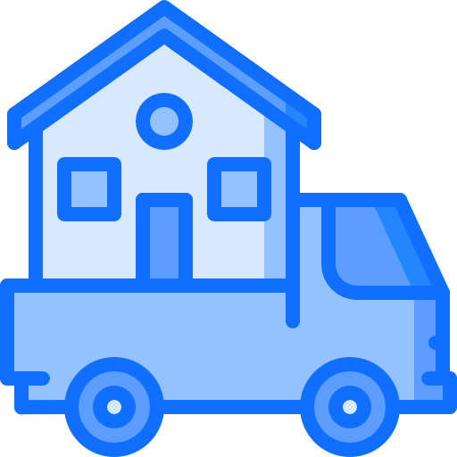 Moving truck  free icon