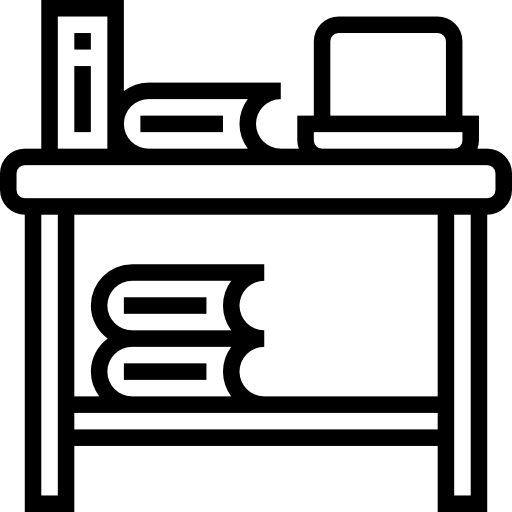 стол письменный  бесплатно иконка