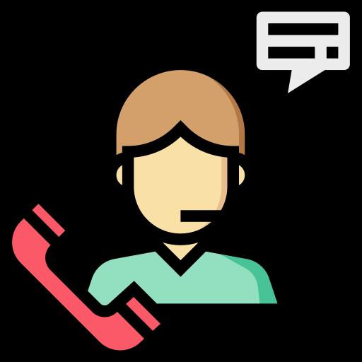 Обслуживание клиентов  бесплатно иконка