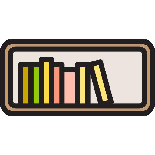 Книжная полка  бесплатно иконка