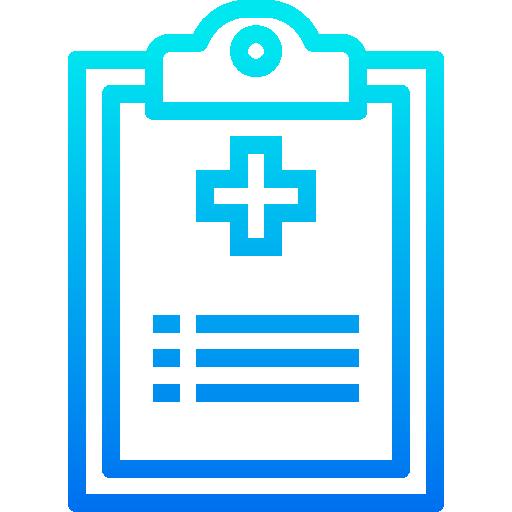 résultats médicaux  Icône gratuit