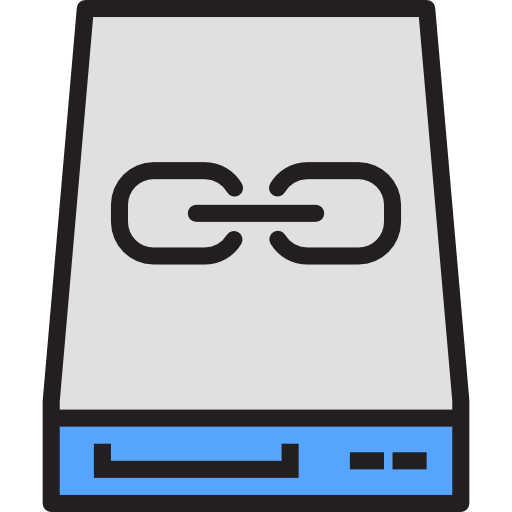 Slave hard drive  free icon