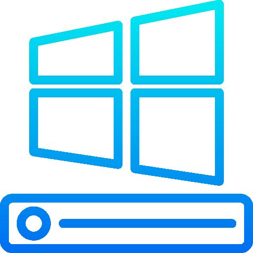 Windows operating system  free icon