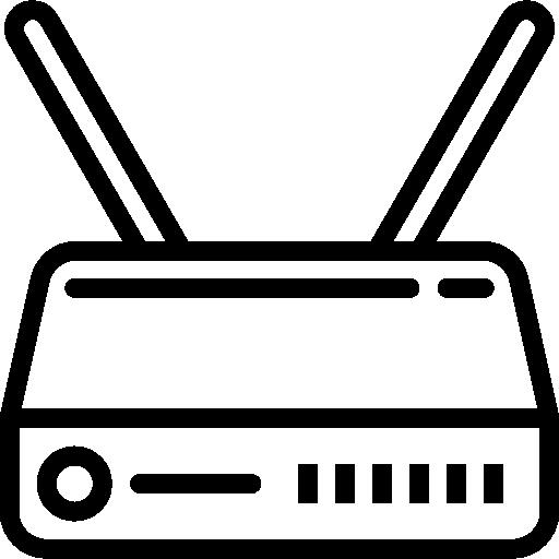 roteador wi-fi  grátis ícone