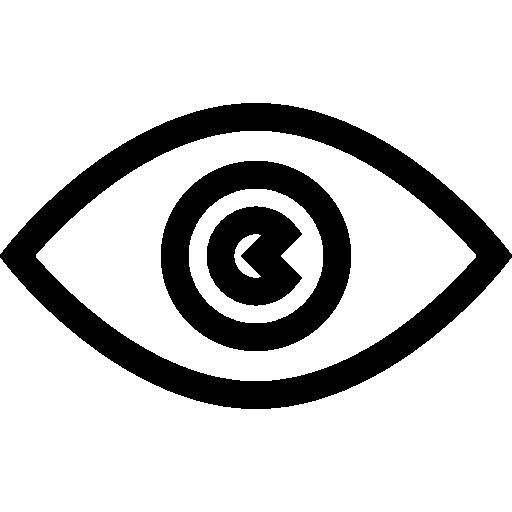 Глаз  бесплатно иконка