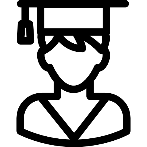 Graduating Boy  free icon