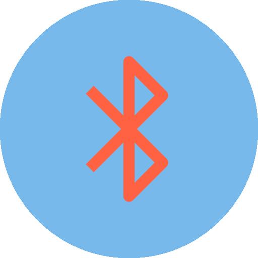 bluetooth  grátis ícone