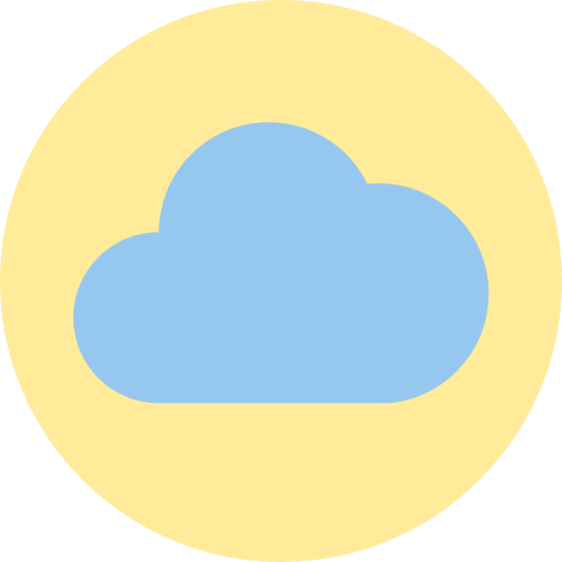 computação em nuvem  grátis ícone
