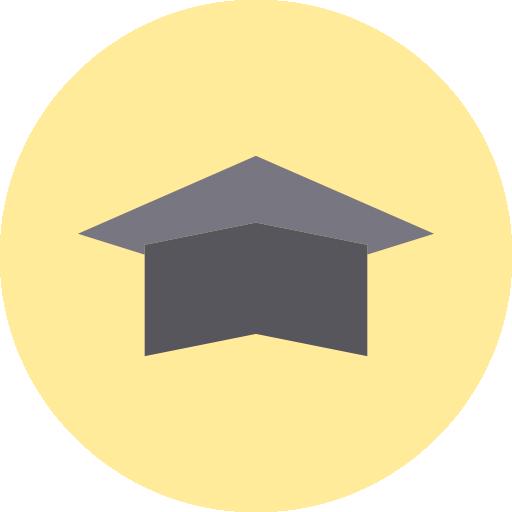 mortarboard  grátis ícone