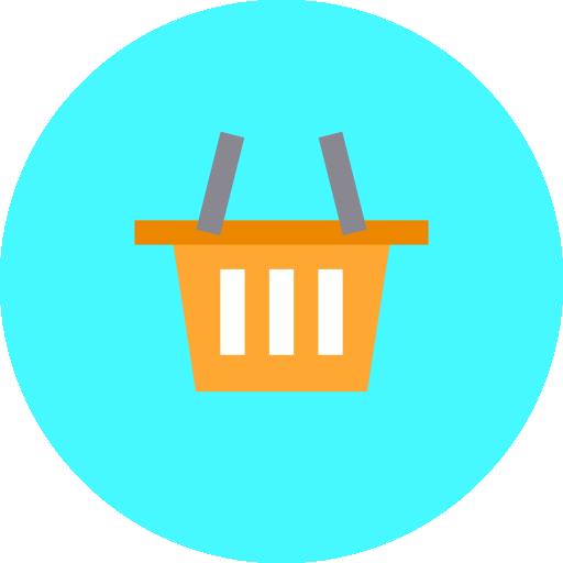 carrinho de compras  grátis ícone