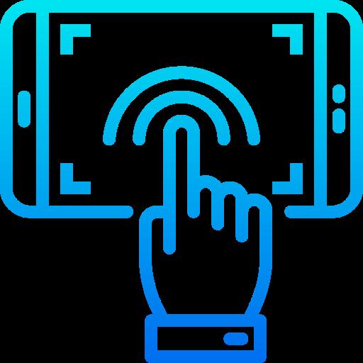 Écran tactile  Icône gratuit