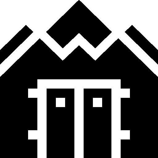abrigo de guerra  grátis ícone