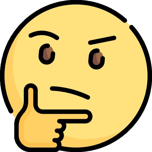 Thinking  free icon