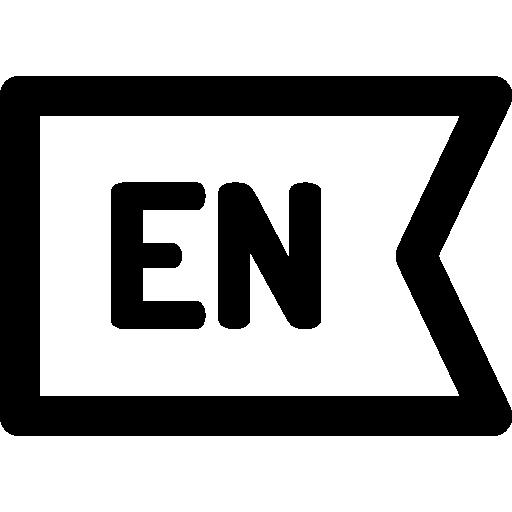 English  free icon