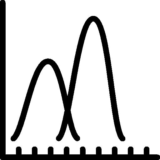 liniendiagramm  kostenlos Icon