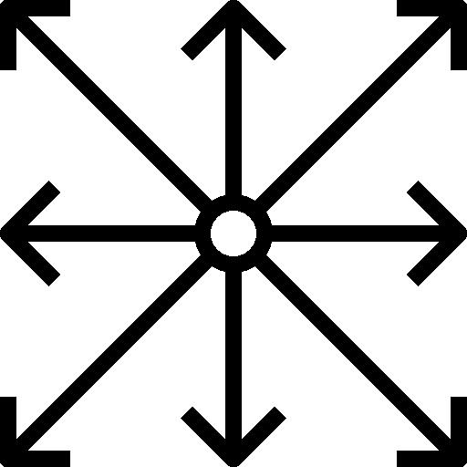 Dimension  free icon