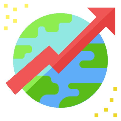 Trend  free icon