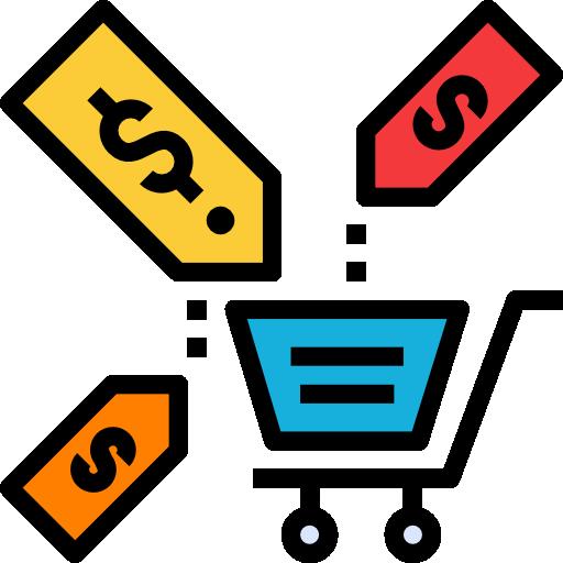 Sales  free icon