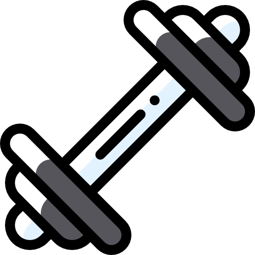 Barbell  free icon