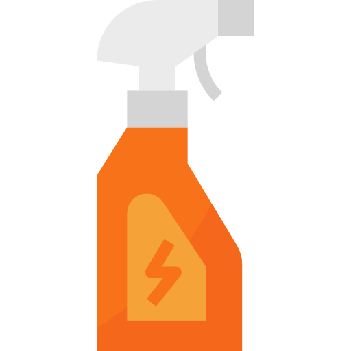 Cleaning spray  free icon