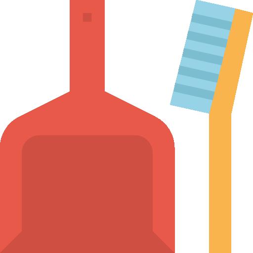 Dustpan  free icon