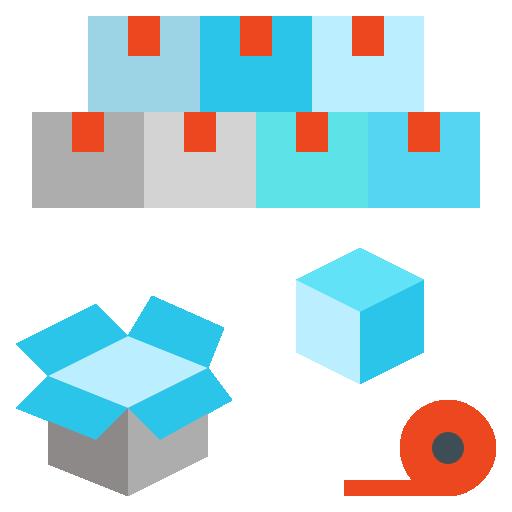 Packing  free icon