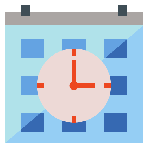 Schedule  free icon