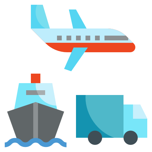 Transportation  free icon