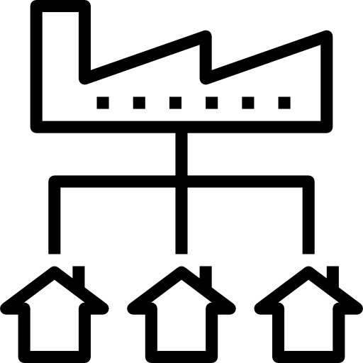 distribution  Icône gratuit