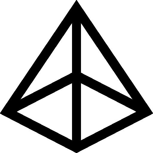 Pyramid  free icon