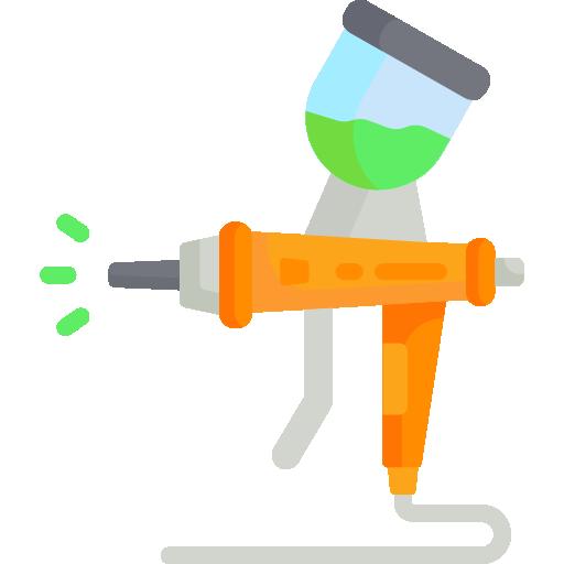 peinture en aérosol  Icône gratuit